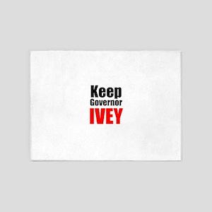 Keep Governor Ivey 5'x7'Area Rug