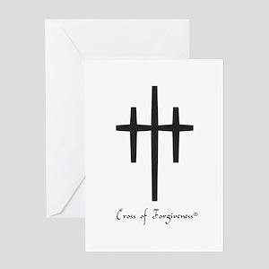 Cross of Forgiveness Greeting Card
