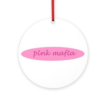 Pink Mafia Keepsake (Round)