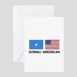 Somali American Greeting Card