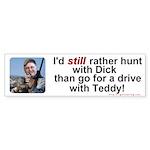 Hunt with Cheney Bumper Sticker (10 pk)