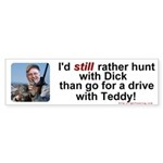 Hunt with Cheney Bumper Sticker (50 pk)