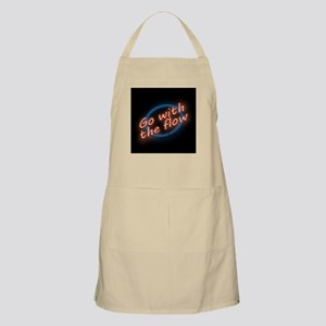 Go with the flow. Light Apron