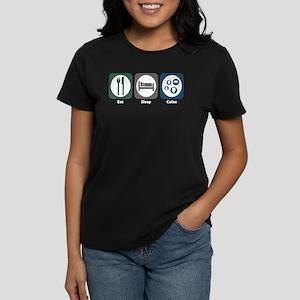 Eat Sleep Coins Women's Dark T-Shirt