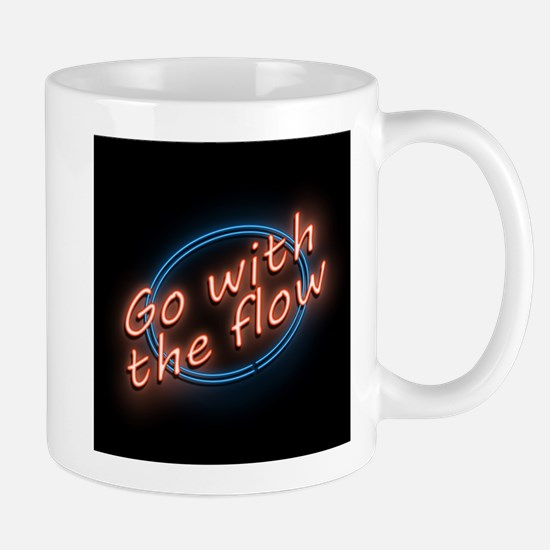 Go with the flow. Mugs
