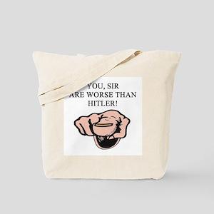 hitler gifts t-shirts Tote Bag