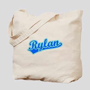 Retro Rylan (Blue) Tote Bag