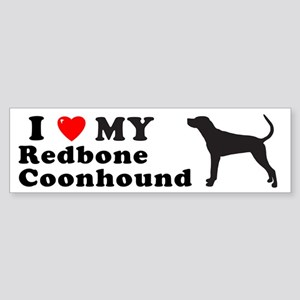 REDBONE COONHOUND Bumper Sticker