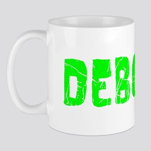 Deborah Faded (Green) Mug