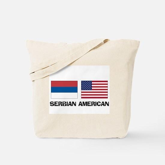 Serbian American Tote Bag