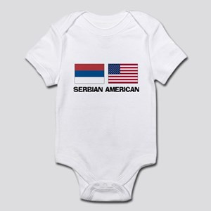 Serbian American Infant Bodysuit