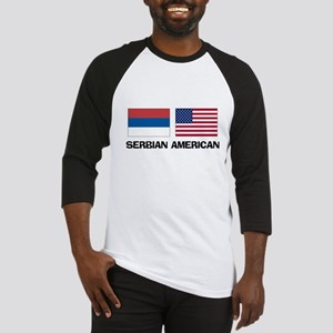 Serbian American Baseball Jersey