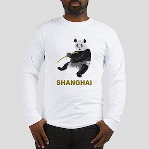 Shanghai Panda Long Sleeve T-Shirt
