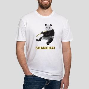 Shanghai Panda Fitted T-Shirt