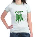 Okra Shirts Jr. Ringer T-Shirt