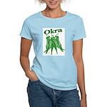 Okra Shirts Women's Pink T-Shirt