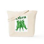 Okra Shirts Tote Bag