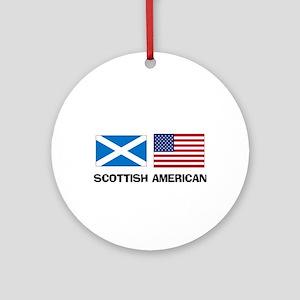Scottish American Ornament (Round)
