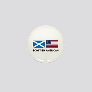 Scottish American Mini Button
