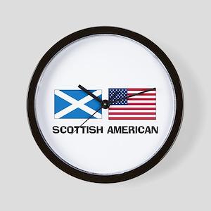 Scottish American Wall Clock