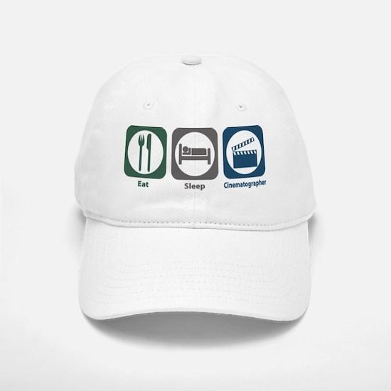 Eat Sleep Cinematographer Baseball Baseball Cap
