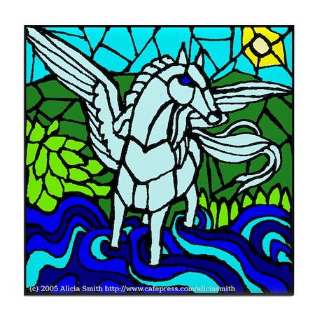 Pegasus the Flying Horse Tile Coaster