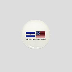 Salvadoran American Mini Button