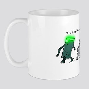 The Evolution Of The Waste Can Mug