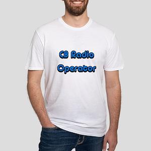 CB Radio Operator Fitted T-Shirt