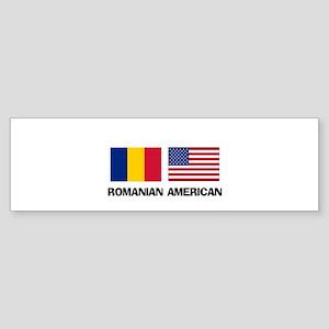 Romanian American Bumper Sticker