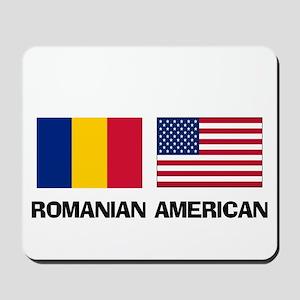 Romanian American Mousepad