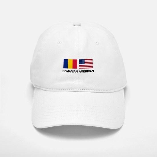 Romanian American Baseball Baseball Cap
