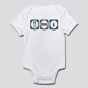 Eat Sleep Cello Infant Bodysuit