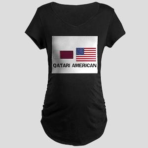 Qatari American Maternity Dark T-Shirt