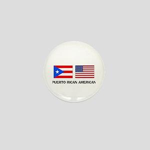 Puerto Rican American Mini Button