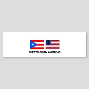 Puerto Rican American Bumper Sticker