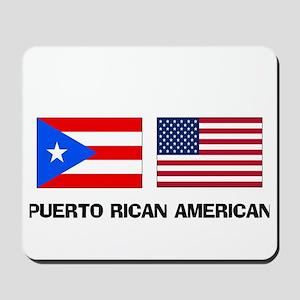 Puerto Rican American Mousepad