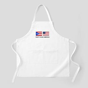 Puerto Rican American BBQ Apron