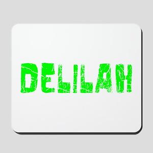 Delilah Faded (Green) Mousepad