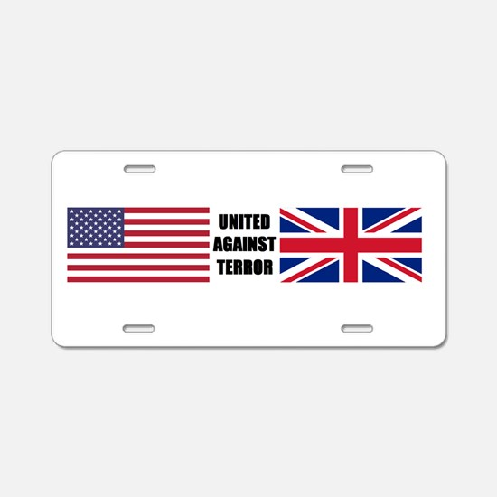 Cute War on terror Aluminum License Plate