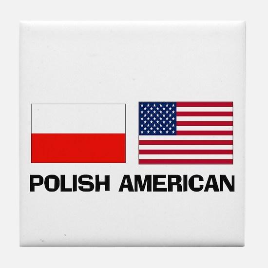 Polish American Tile Coaster