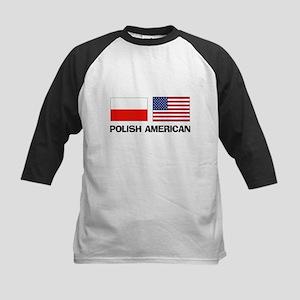 Polish American Kids Baseball Jersey