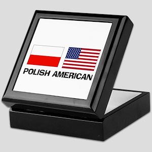 Polish American Keepsake Box