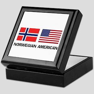 Norwegian American Keepsake Box