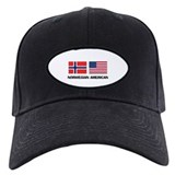 Norwegian flag Baseball Cap with Patch