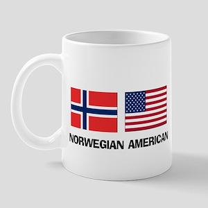 Norwegian American Mug