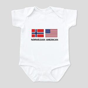 Norwegian American Infant Bodysuit