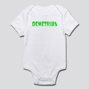 Demetrius Faded (Green) Infant Bodysuit