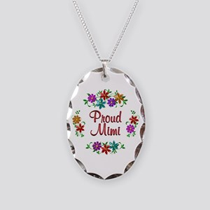 Proud Mimi Necklace Oval Charm