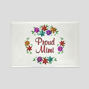 Proud Mimi Rectangle Magnet